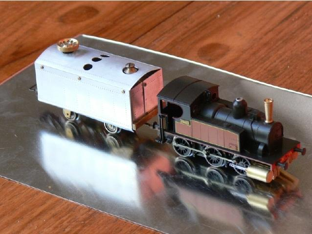 HO/00 live steam train- Jouef 030 - Garden Railway Forum