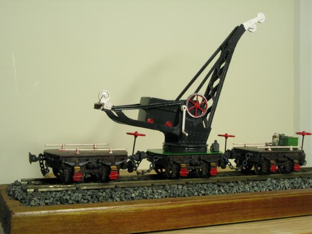 When I First Saw A Picture Of Pechot Crane Didnt Think They Would Be Very Stable As Model However This Kit Is All Metal Are The Bogies And