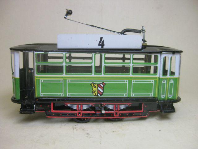 Converting A Model Tin Plate Tram To Battery Power